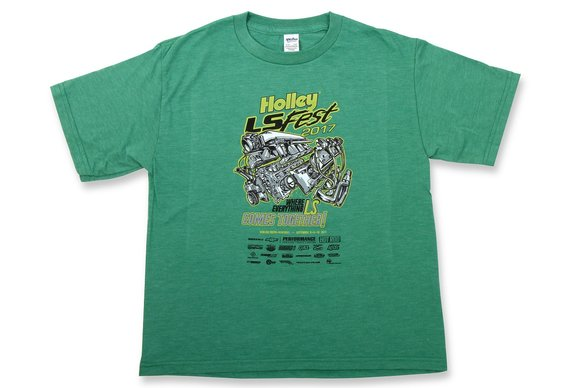 10123-SMHOL - 2017 Holley LS Fest Green Event Tee - Youth Image