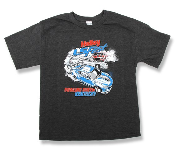 10125-MDHOL - Holley LS Fest Bowling Green KY Drift Challenge Tee - Youth Image