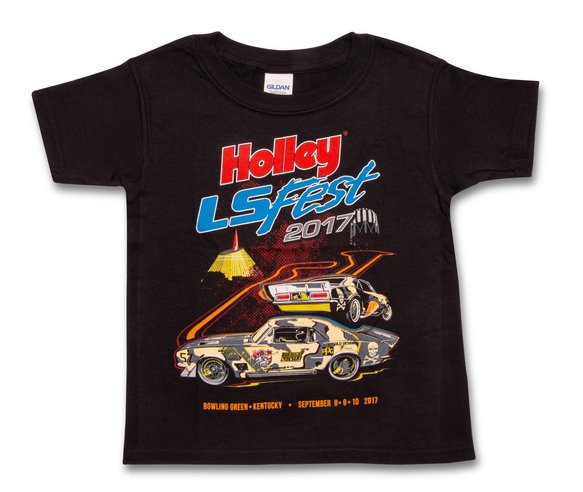 10126-4THOL - 2017 Holley LS Fest Camaro Youth Event Tee Image