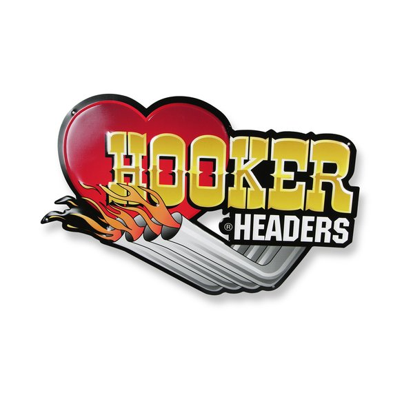 10145HKR - Hooker Metal Sign Image