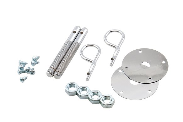 1016 - Mr. Gasket Hood Pins Kit - 7/16 Inch - Safety Pins Image