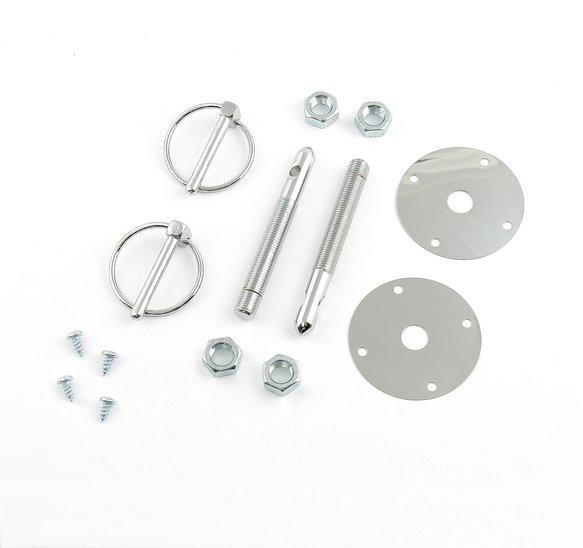 1017 - Mr. Gasket Hood & Deck Pinning Kits - With Screw-On Scuff Plates Image