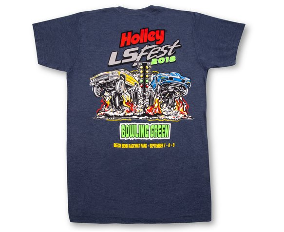 10184-SMHOL - Holley LS Fest 2018 Drag T-Shirt Image