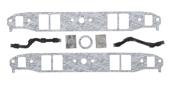 101B - Intake Manifold Gasket Set - Performance - 262-400 Chevrolet Small Block Gen I 1955-91 Image