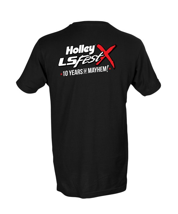 10220-2XHOL - Holley LS Fest 10 Year Anniversary Event T-Shirt - additional Image