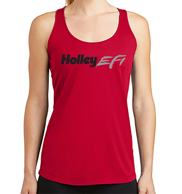 10228-MDHOL - Holley EFI Ladies Red Tank Image