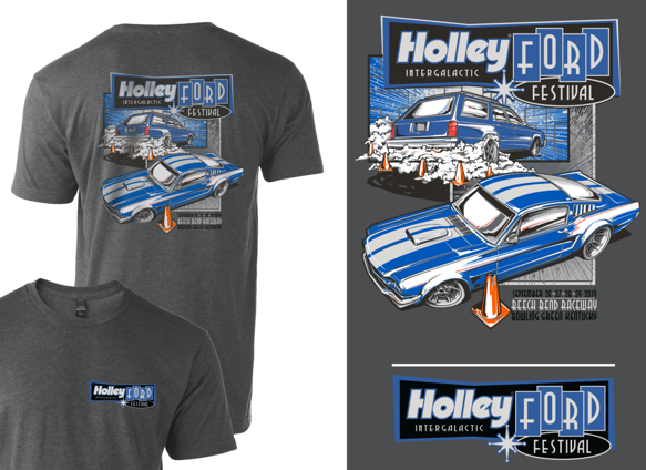 10237-SMHOL - Holley Ford Fest Burnout T-Shirt Image