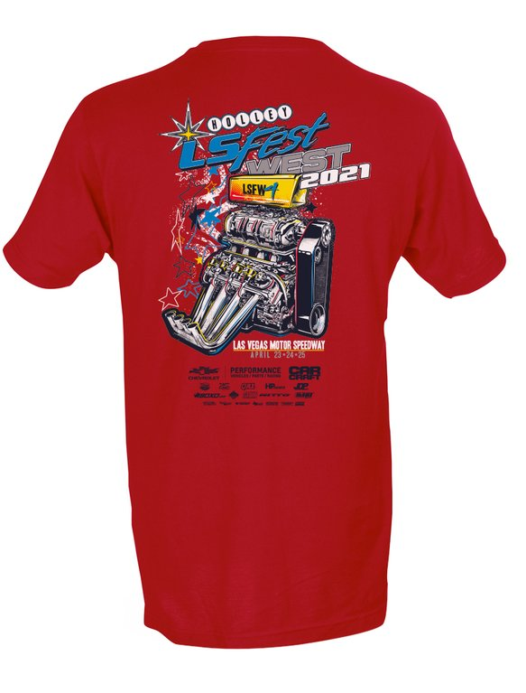 10286-4XHOL - 2021 LS Fest West Main Event Tee Image