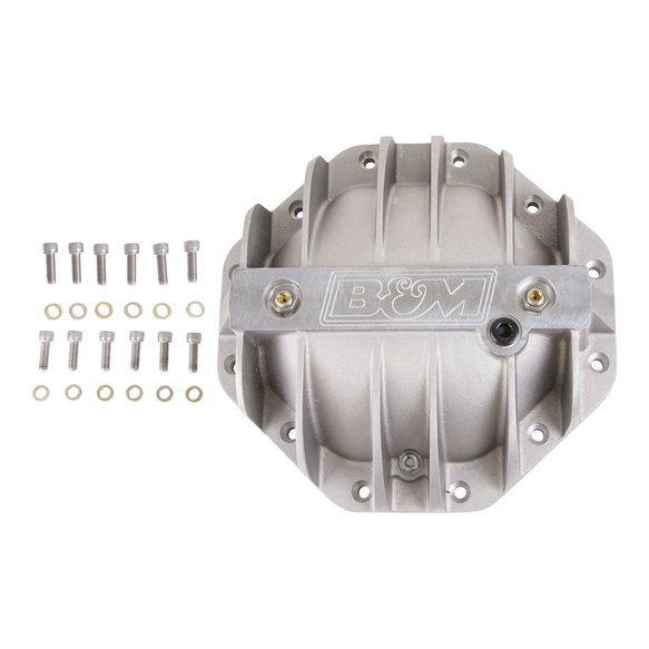 10306 - B&M Hi-Tek Aluminum Differential Cover for Chrysler 9.25-inch - additional Image