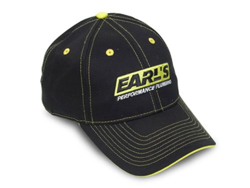 11001ERL - Earls Black Cap with Yellow Trim Image