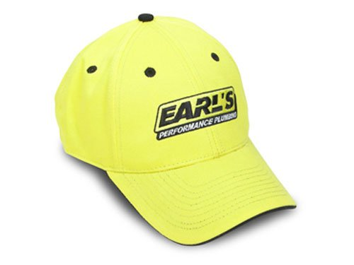 11002ERL - Earls Yellow Cap with Black Trim Image
