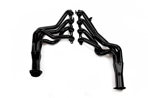 11134FLT - Flowtech Long Tube Header - Black Paint Image