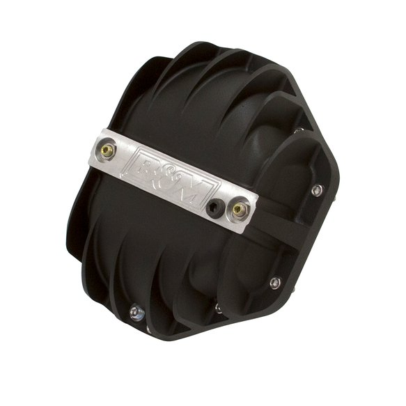 11315 - B&M Hi-Tek Aluminum Differential Cover for Dana 80 - Black Image