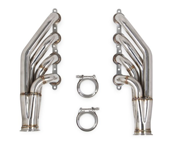 11537FLT - Flowtech LS Turbo Headers-Natural Finish Image