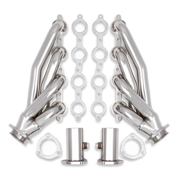 11576FLT - Flowtech Shorty Headers - Polished Image