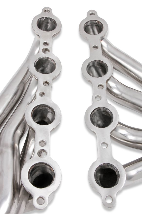 11579FLT - Flowtech Shorty LS Swap Headers - Polished - additional Image