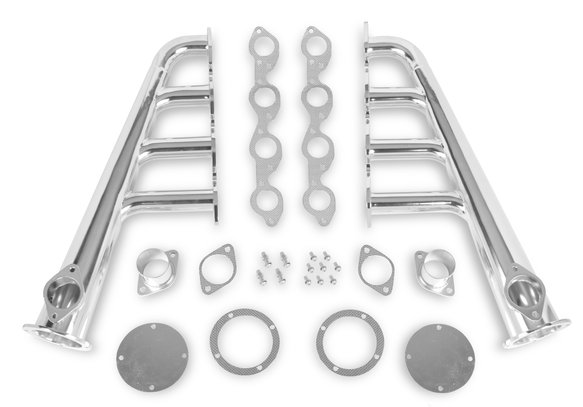 11703-2FLT - Flowtech Lakester Headers - Chrome Finish Image