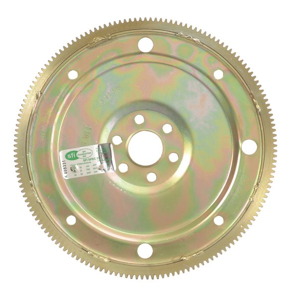 12-045 - STEEL 157-TOOTH 28OZ. EXTERNAL BALANCE FLEXPLATE 64-76 SMALL BLOCK FORD V8 Image