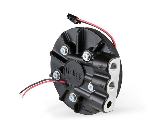 12-129 - Holley Diecast In-Tank Carbureted RetroFit Fuel Pump Module-Returnless System - additional Image