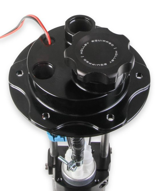 12-142 - Holley Fuel Cell EFI Pump Module Assembly 6 Bolt Flange with VR Series Brushless Fuel Pumps - additional Image