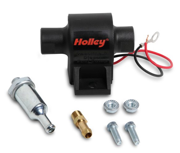 12-428 - 34 GPH Holley Mighty Mite Electric Fuel Pump, 7-10 PSI Image