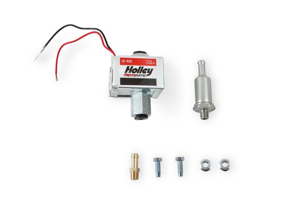 12-433 - 32 GPH Holley Mighty Mite Electric Fuel Pump, 4-7 PSI Image