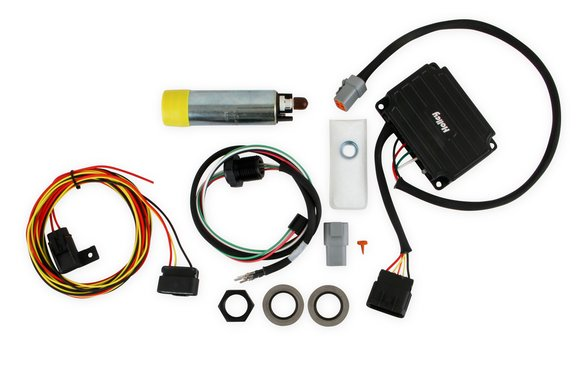 12-768 - VR1 Series Brushless Fuel Pump w/Controller and Bulkhead Harness Quick Kit Image