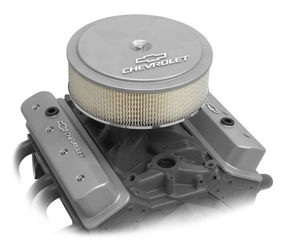 120-211 - GM Muscle Series Air Cleaner - Natural Machined - additional Image