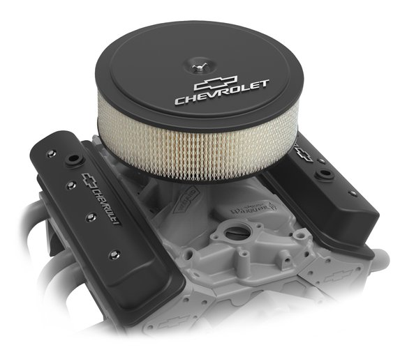 120-213 - GM Muscle Series Air Cleaner - Satin Black Machined - additional Image