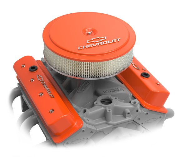 120-216 - GM Muscle Series Air Cleaner - Factory Orange Machined - additional Image