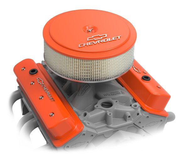 120-217 - GM Muscle Series Air Cleaner - Factory Orange Machined - additional Image