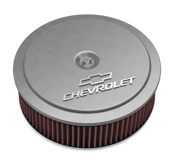 120-219 - GM Muscle Series Air Cleaner - Natural Machined Image