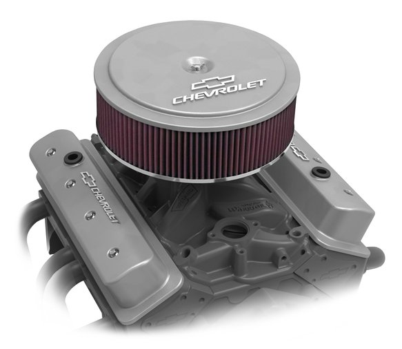 120-219 - GM Muscle Series Air Cleaner - Natural Machined - additional Image