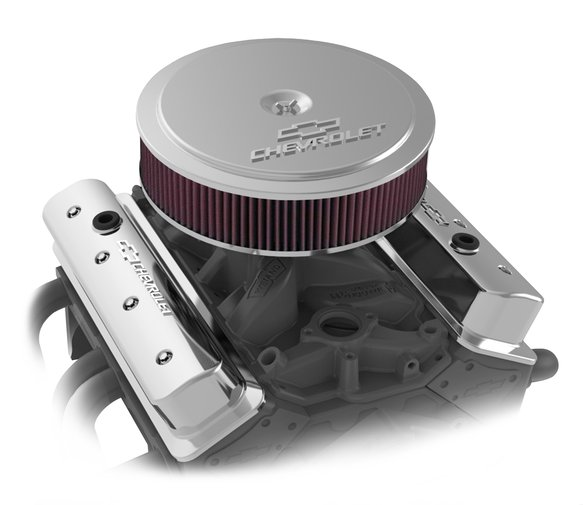 120-222 - GM Muscle Series Air Cleaner - Polished - additional Image