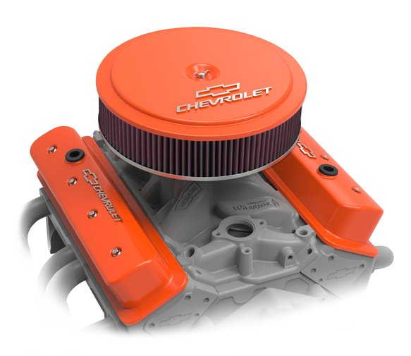 120-224 - GM Muscle Series Air Cleaner - Factory Orange Machined - additional Image