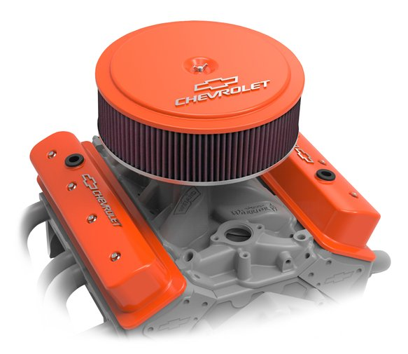120-225 - GM Muscle Series Air Cleaner - Factory Orange Machined - additional Image