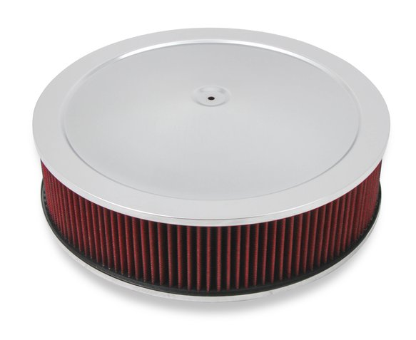 120-4140 - 4150 Drop Base Air Cleaner Chrome w/4