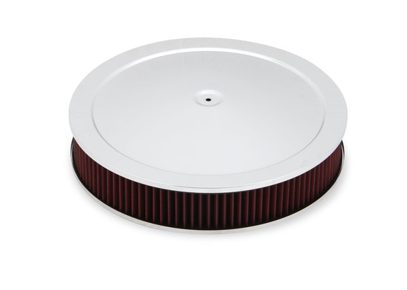 120-4530 - 4500 drop base air cleaner chrome w/3