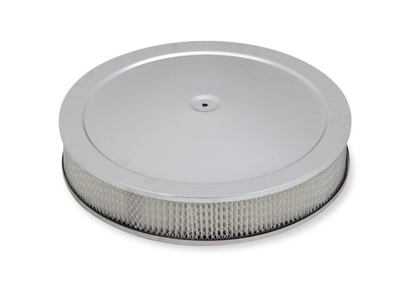 120-4535 - 4500 drop-base air cleaner chrome w/3