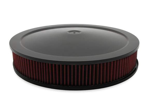 120-4630 - 4500 drop base air cleaner black w/3