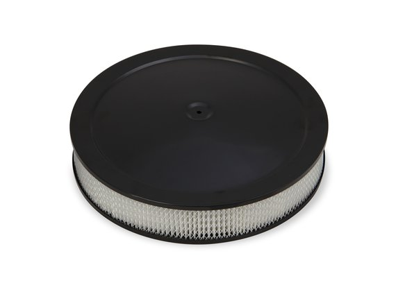 120-4635 - 4500 drop-base air cleaner black w/3