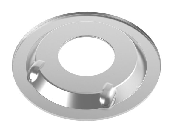 120-510 - Sniper EFI Air Cleaner Drop Base - Chrome Image