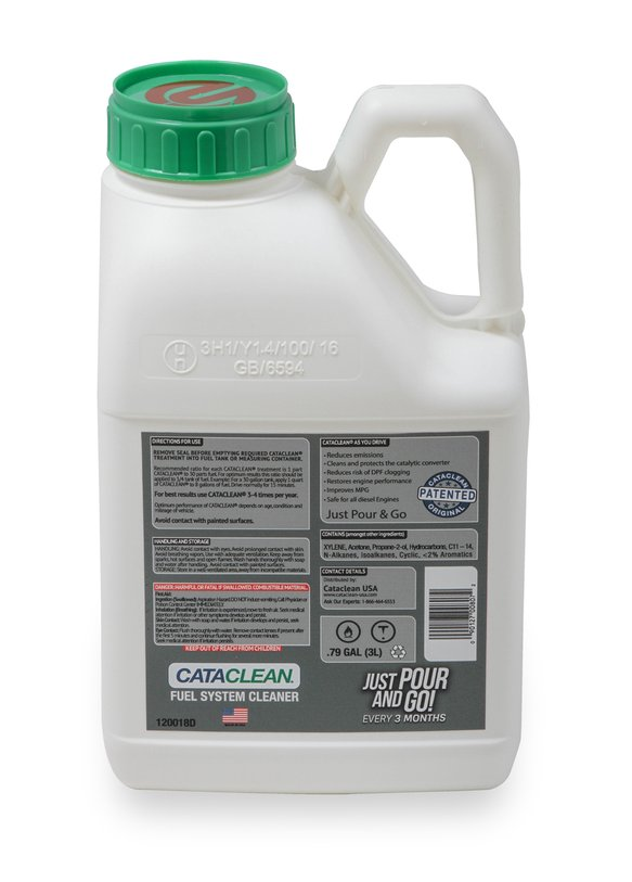 120018D - Cataclean- Fuel and Exhaust System Cleaner 3L Diesel- Bulk pkg (Treats up to 30 Gallons) - additional Image