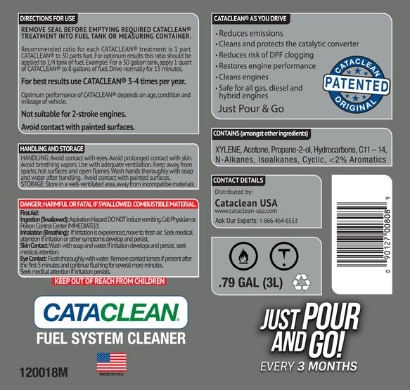 Cataclean- Fuel and Exhaust System Cleaner 3L Marine- Bulk pkg (Treats up  to 30 Gallons)