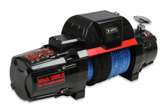 12010AOR - Anvil - 12,000 Lbs Winch w/ Synthetic Rope & Aluminum Fairlead - additional Image