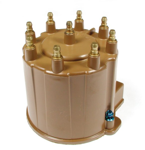 120137 - Distributor Cap - GM - V8 - Male - HEI Style - Brown Image