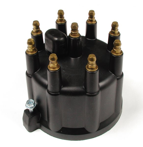 120329 - Distributor Cap - Dodge / Jeep 5.2 / 5.9L - Male - HEI Style - Black Image