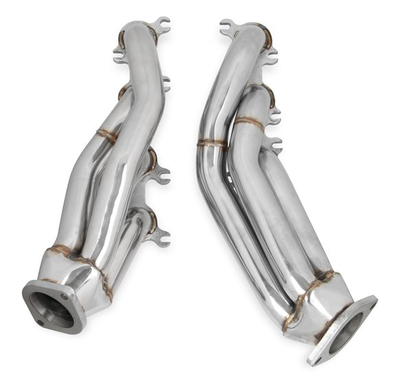 12132FLT - Flowtech Shorty Headers- Polished Finish Image