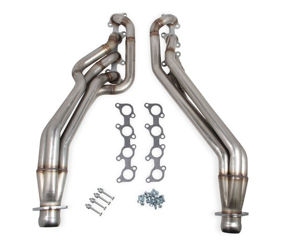 12135FLT - Flowtech Long Tube Headers- Natural Finish Image