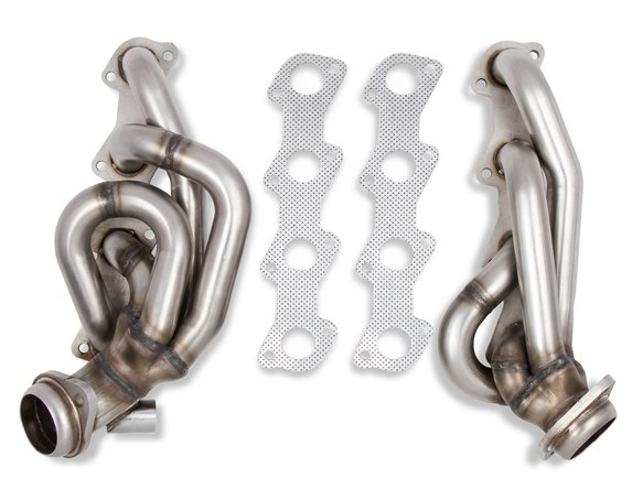 12148FLT - Flowtech Shorty Headers - Natural Finish Image